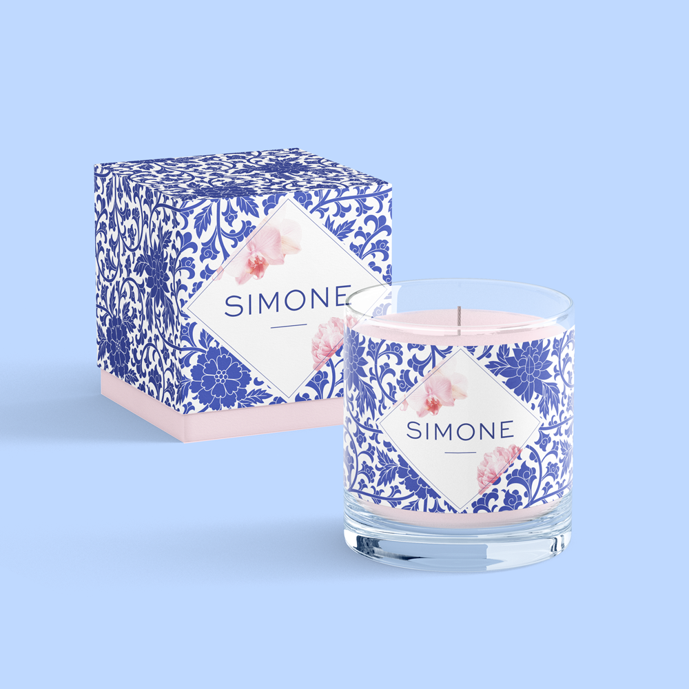 Castlefield Design – Simone Candle Packaging
