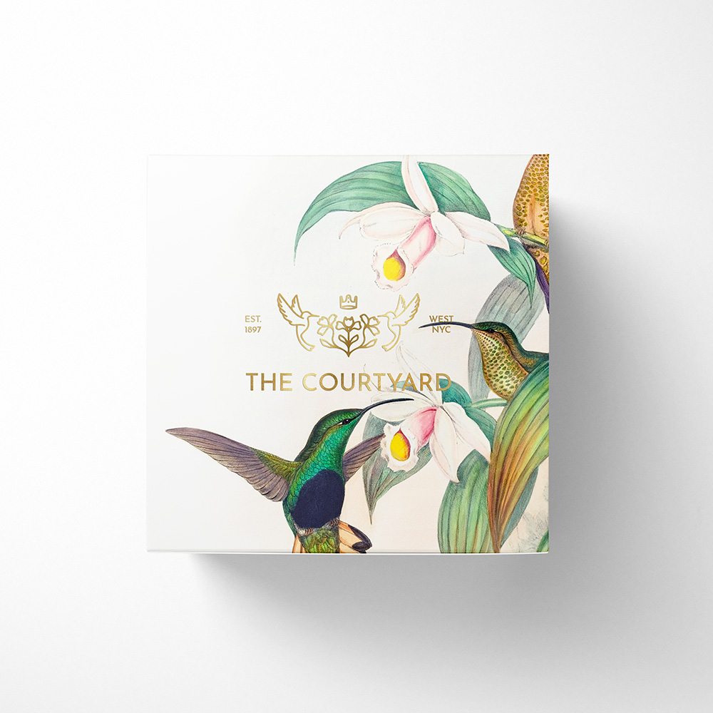 Castlefield Design – The Courtyard Packaging 3 2 1000